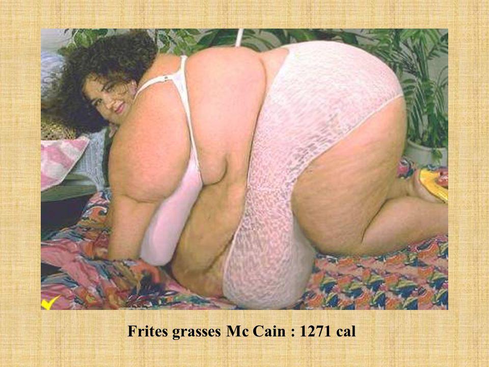 Frites grasses Mc Cain : 1271 cal