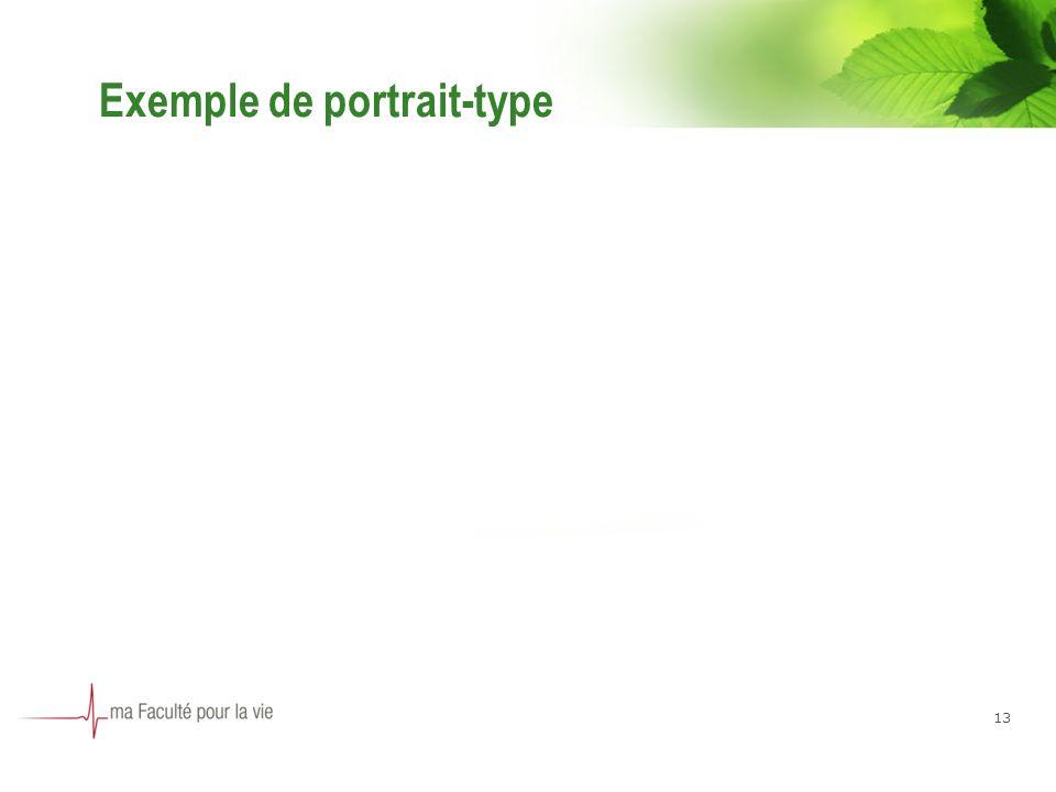 Exemple de portrait-type 13
