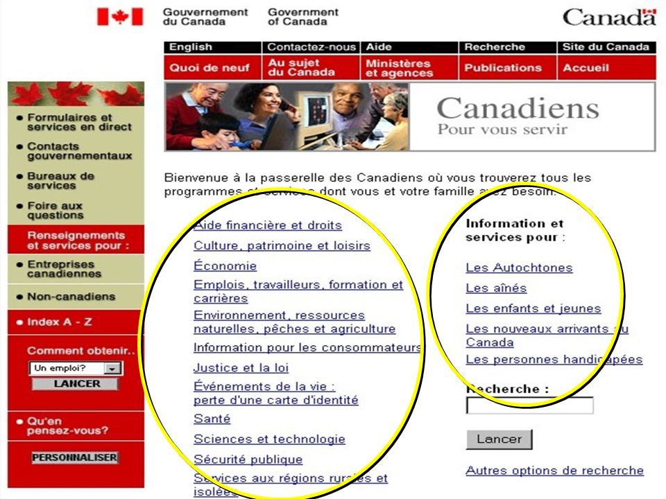 15 Government of CanadaGouvernement du Canada
