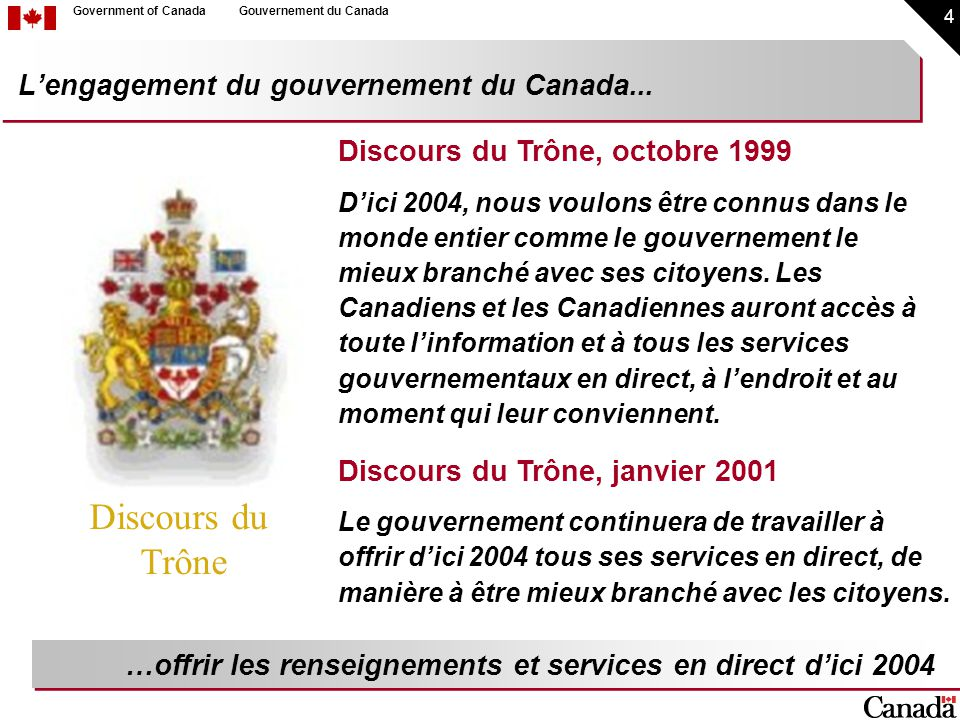 35 Government of CanadaGouvernement du Canada