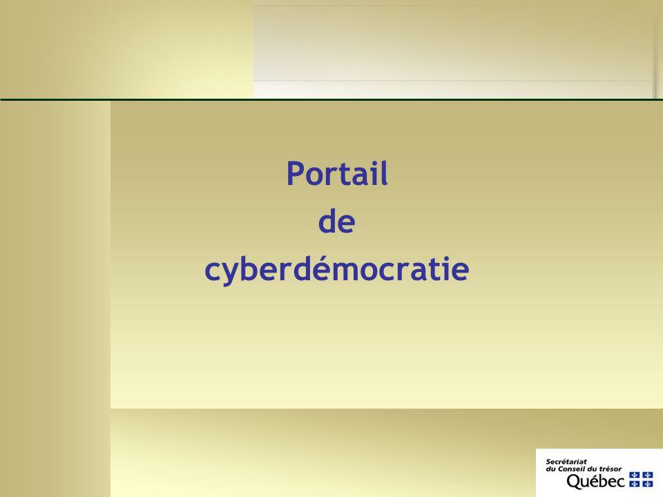 Portail de cyberdémocratie