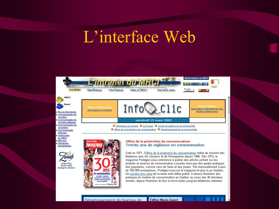 Linterface Web