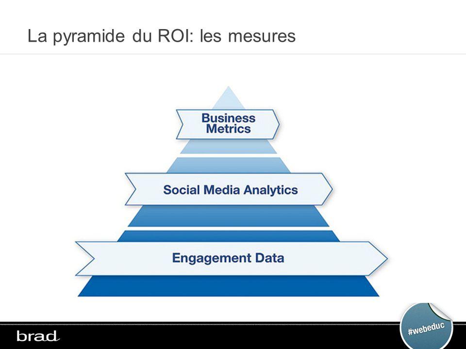 La pyramide du ROI: les mesures