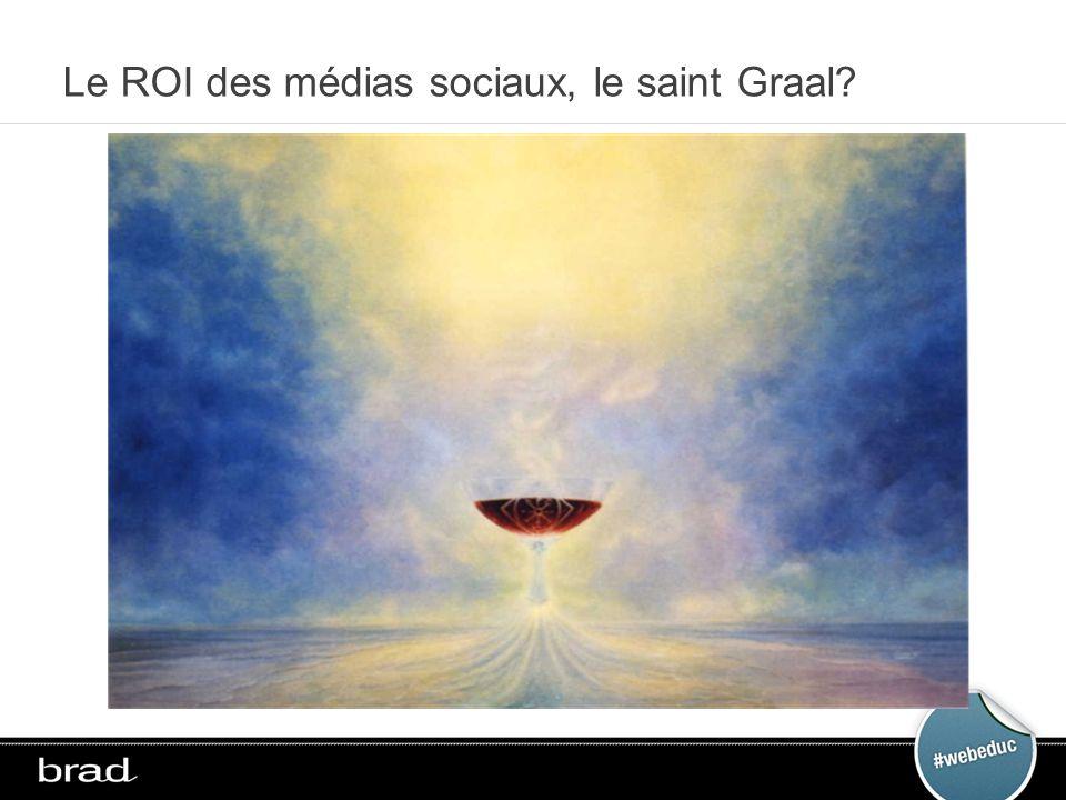 Le ROI des médias sociaux, le saint Graal?