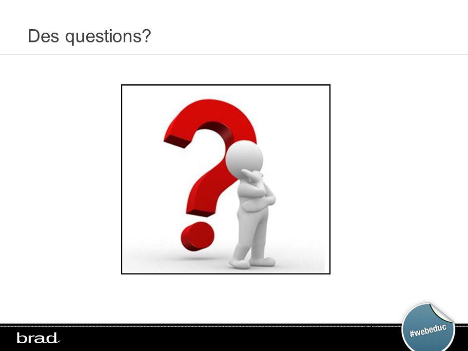 Des questions 58