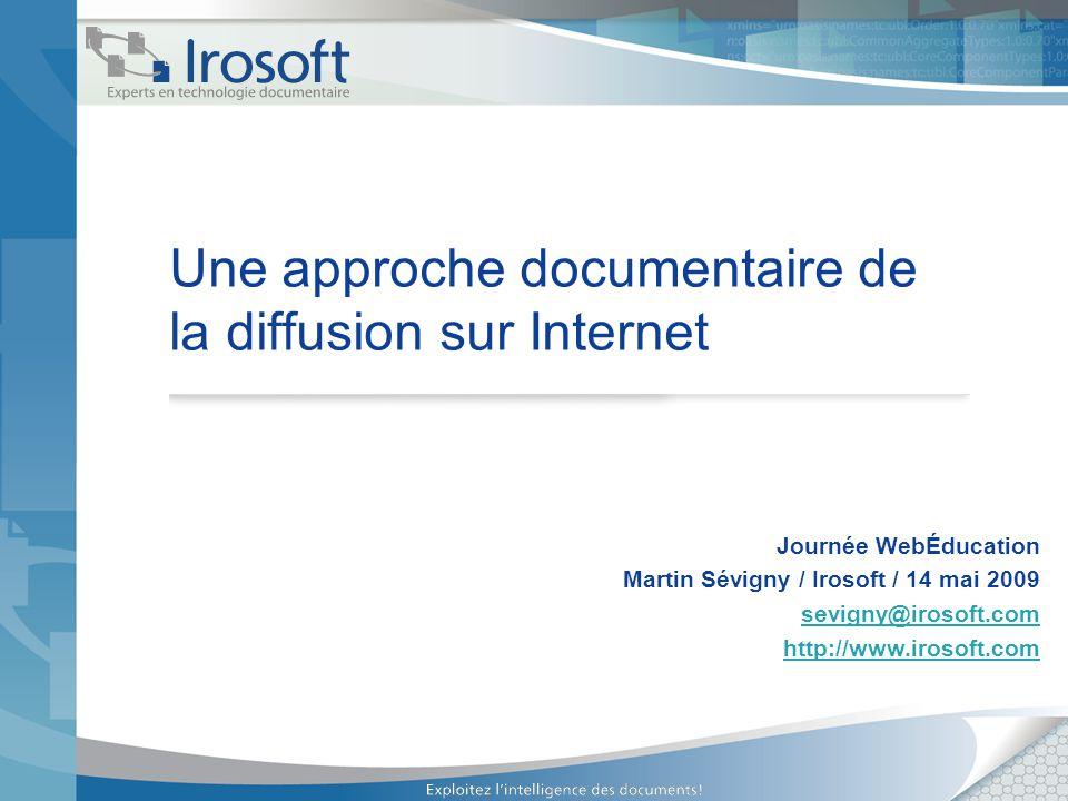 2 Rappel du programme En lien direct avec la conférence précédente, nous allons terminer la journée par une exploration des impacts de la diffusion sur Internet des documents numériques.