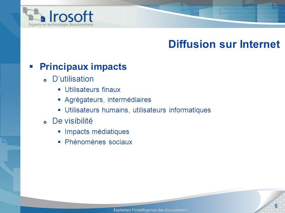 7 Impacts sur les documents Est-ce le bon document.