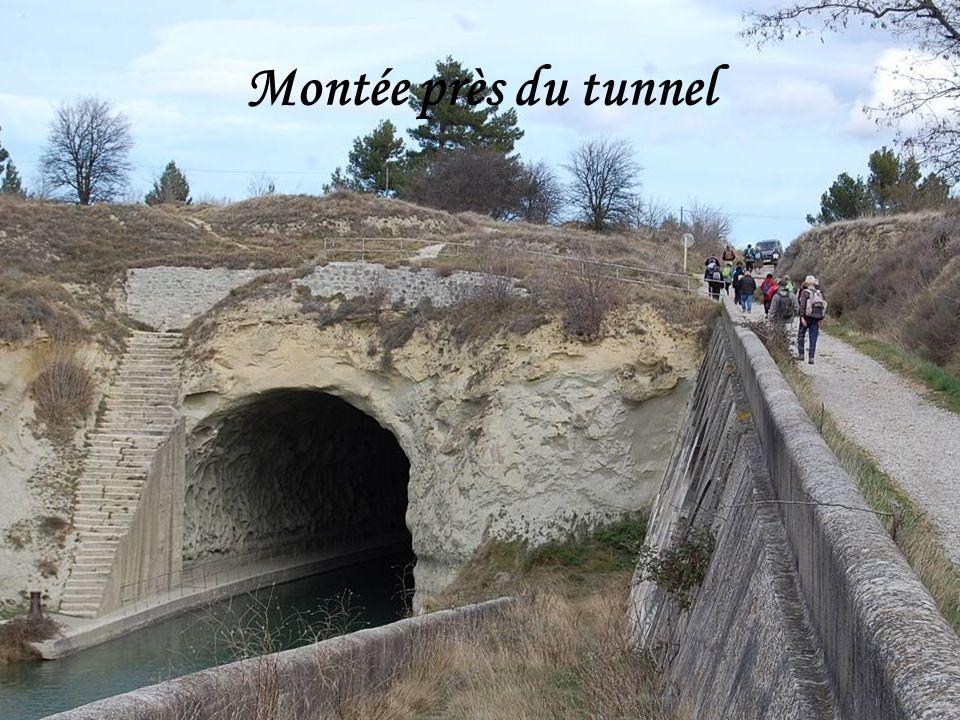 Montée près du tunnel