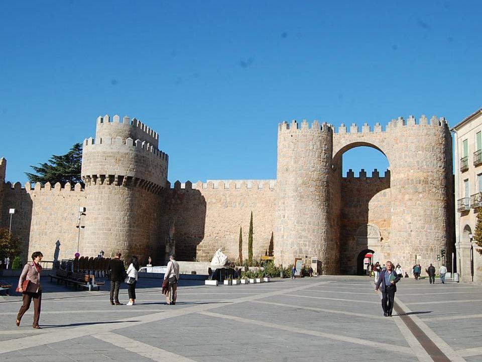 Mercredi 3 octobre AVILA : La grande muraille