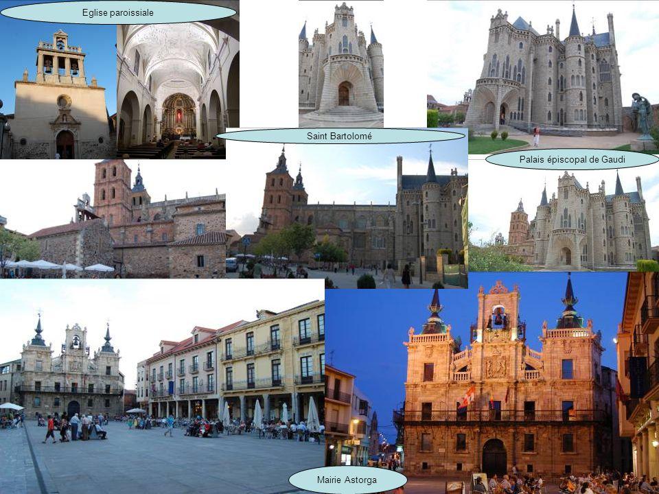 Le 15 : Hospital de Orbigo à Astorga Pont du XIII emprunté par les pèlerins de St jacques Cathédrale dAstorga regroupant plusieurs styles. Du gothique