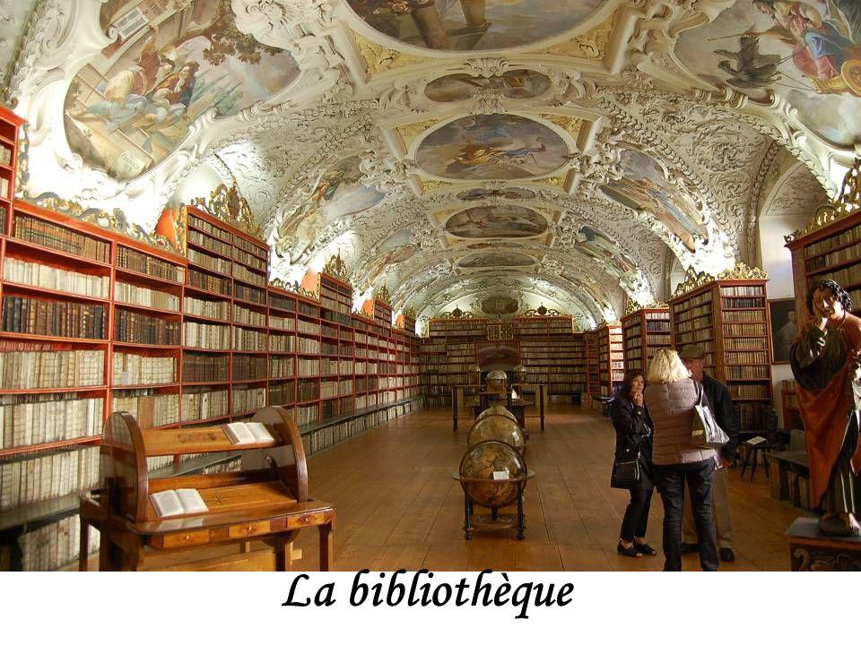 Bibliothèque des Prémontrés à Strahov