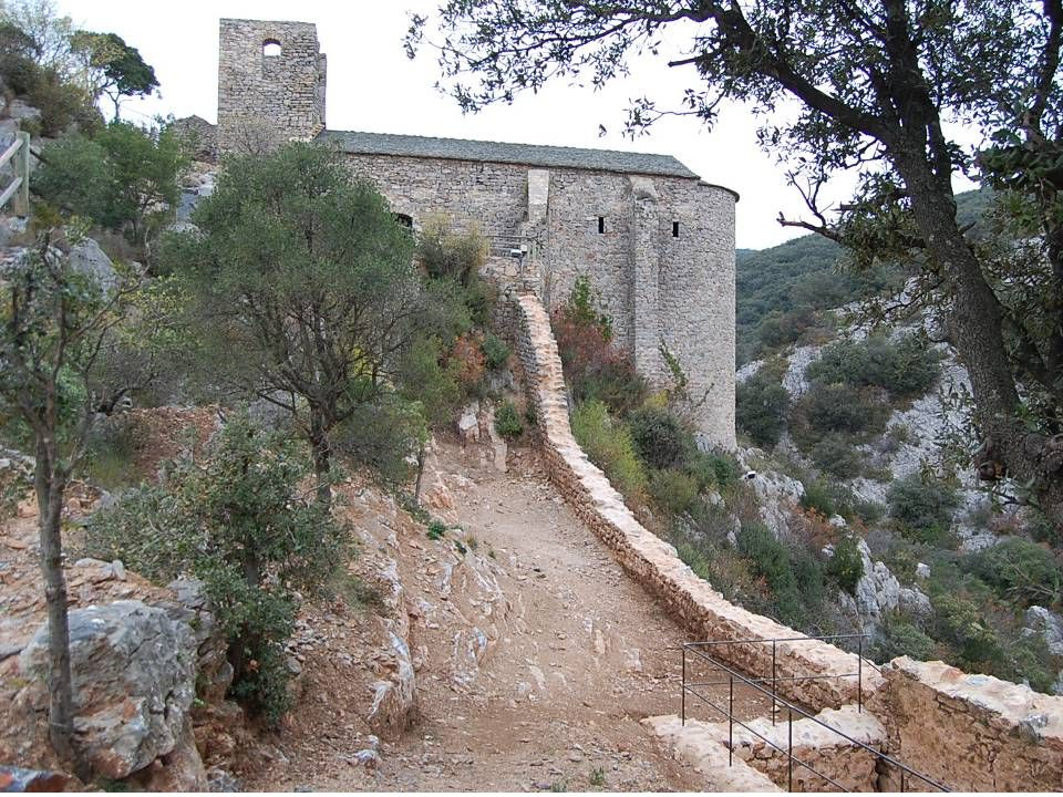Superbe vue sur Cabrerolles depuis le château