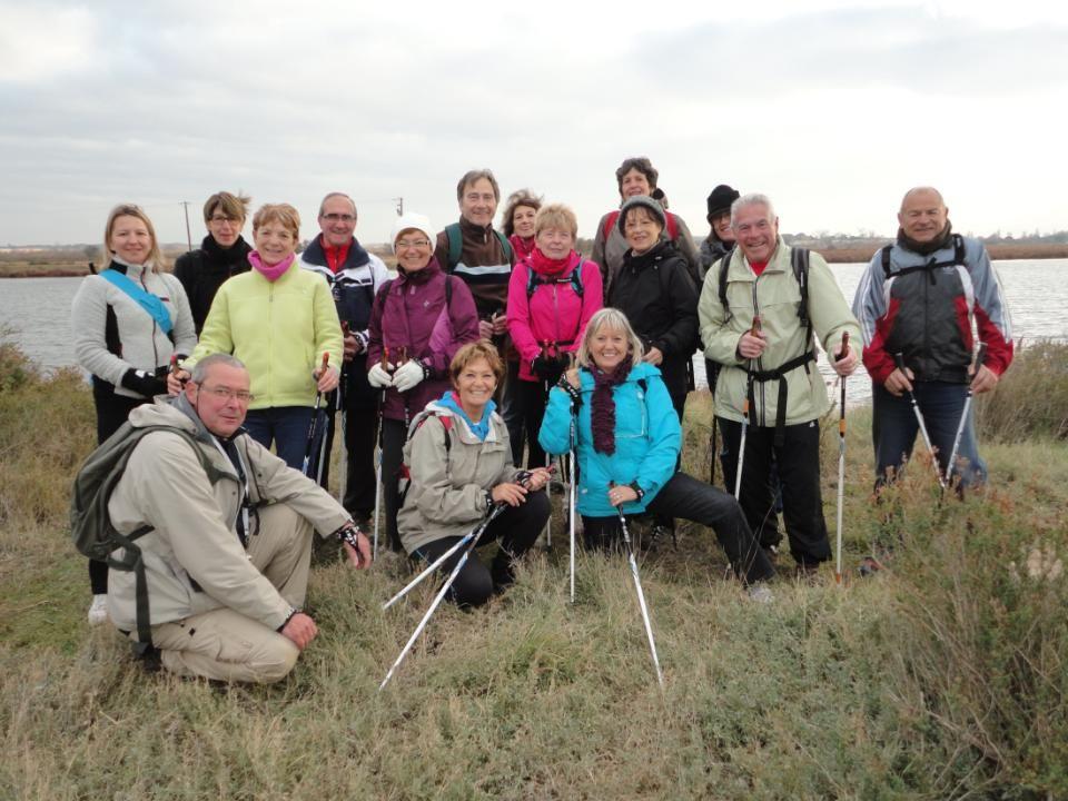 Lundi 16 Décembre 2013, Marche Nordique: Les « Etangs de Portiragnes »