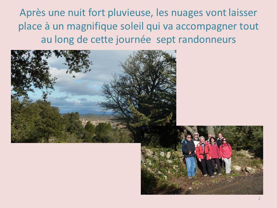 DE FLEURY DAUDE à LŒIL DOUX En passant par Le Léger, Le Château de Laquirou, TUFFAREL et le puech de la Bado Randonnée du mercredi 20 mars 2013 1
