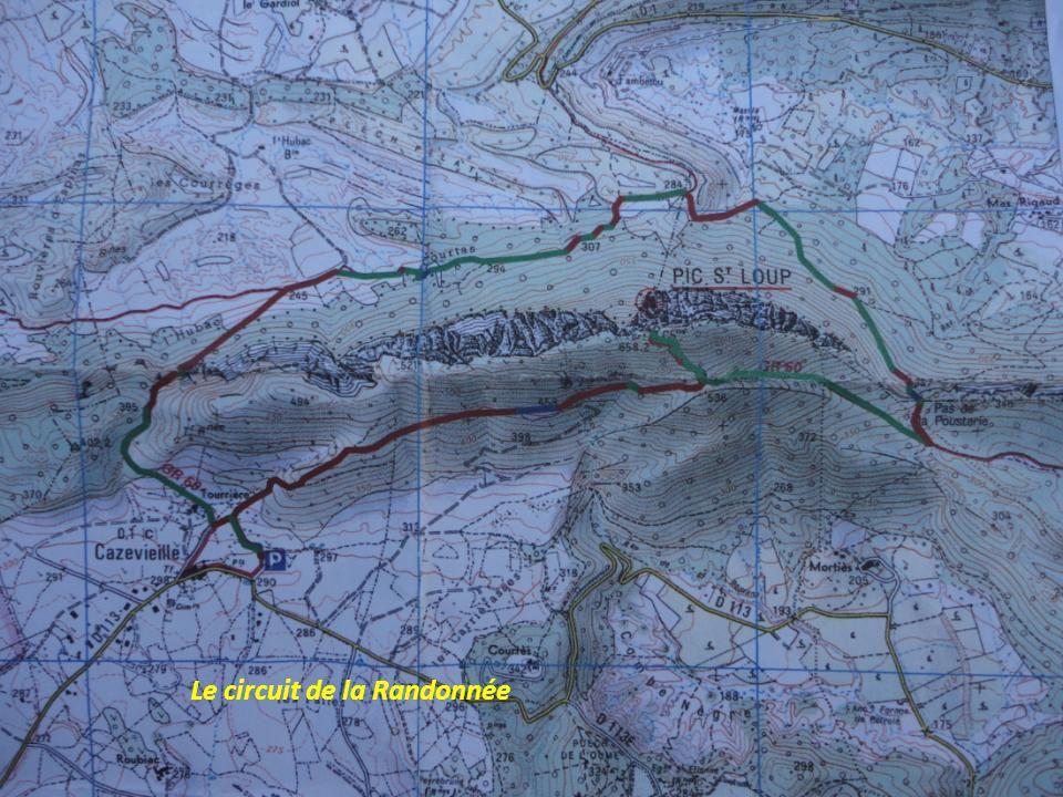 Lundi 22 Avril 2013, « 12 Félins » et « Dickies » se préparent à gravir le Pic Saint Loup Départ, de la Commune de CAZEVIEILLE