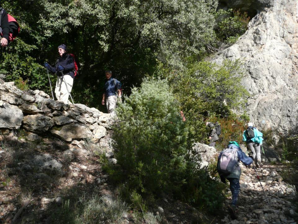 On grimpe vers le Col de la Blande pour atteindre le Roc de la Vigne