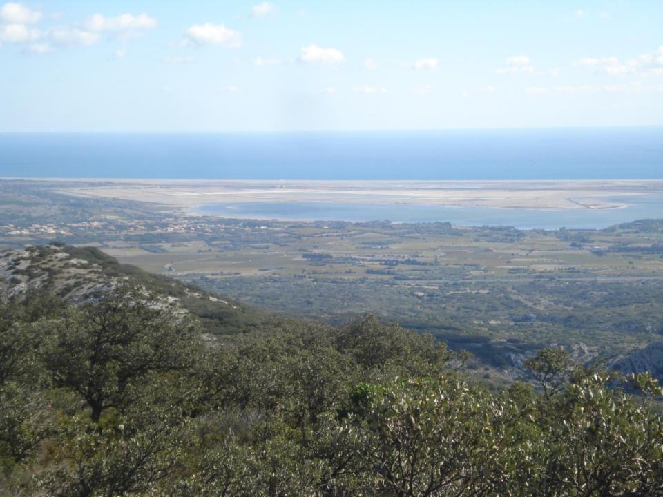 Vue panoramique sur le littoral