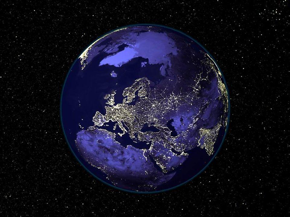 Notre planète au milieu de lUnivers