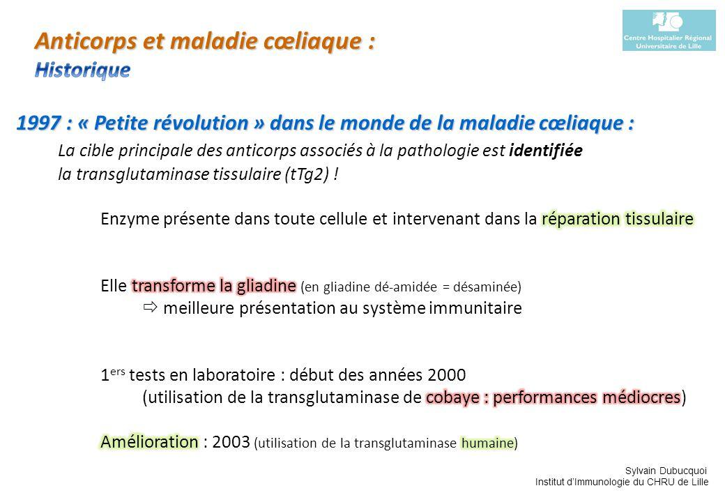Sylvain Dubucquoi Institut dImmunologie du CHRU de Lille