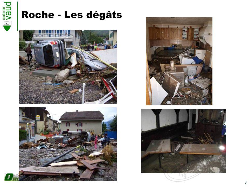 7 LIBERTE ET PATRIE Roche - Les dégâts