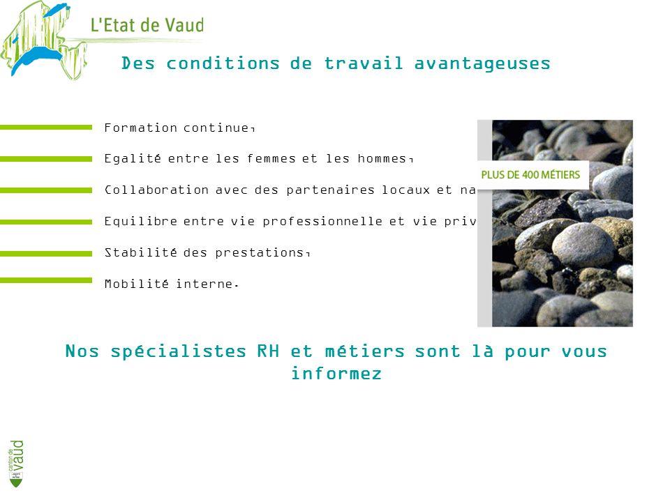 www.vd.ch/carrieres Informez-vous…