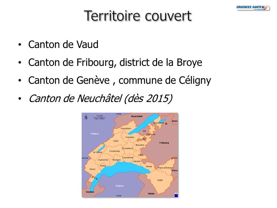 Canton de Vaud Canton de Fribourg, district de la Broye Canton de Genève, commune de Céligny Canton de Neuchâtel (dès 2015)