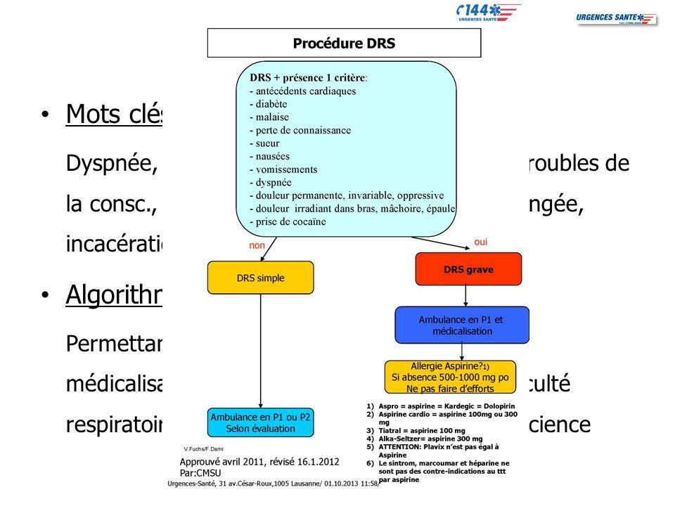 Critères de médicalisation