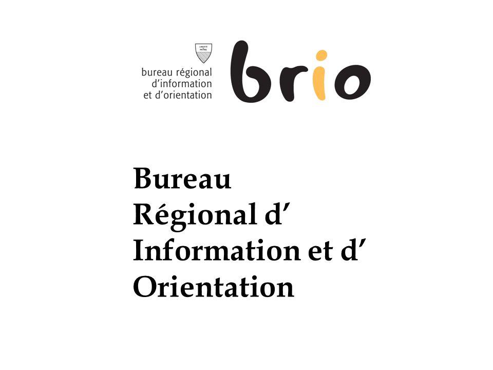 Bureau Régional d Information et d Orientation