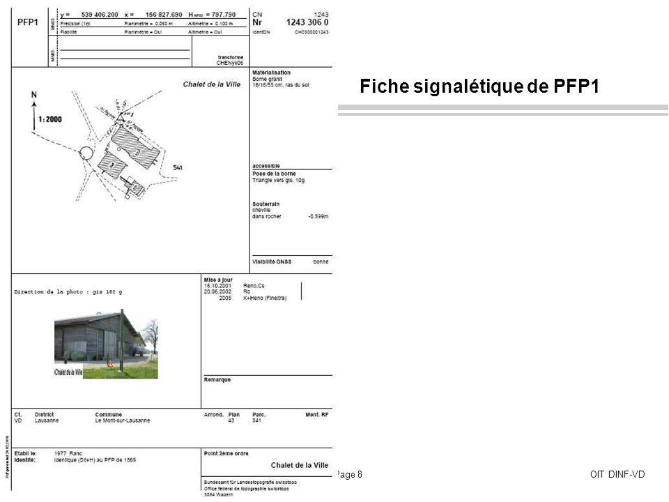Info FPDS, juillet 2010Page 9OIT DINF-VD Les PFA1 et PFA2 sont également disponibles sur FPDS