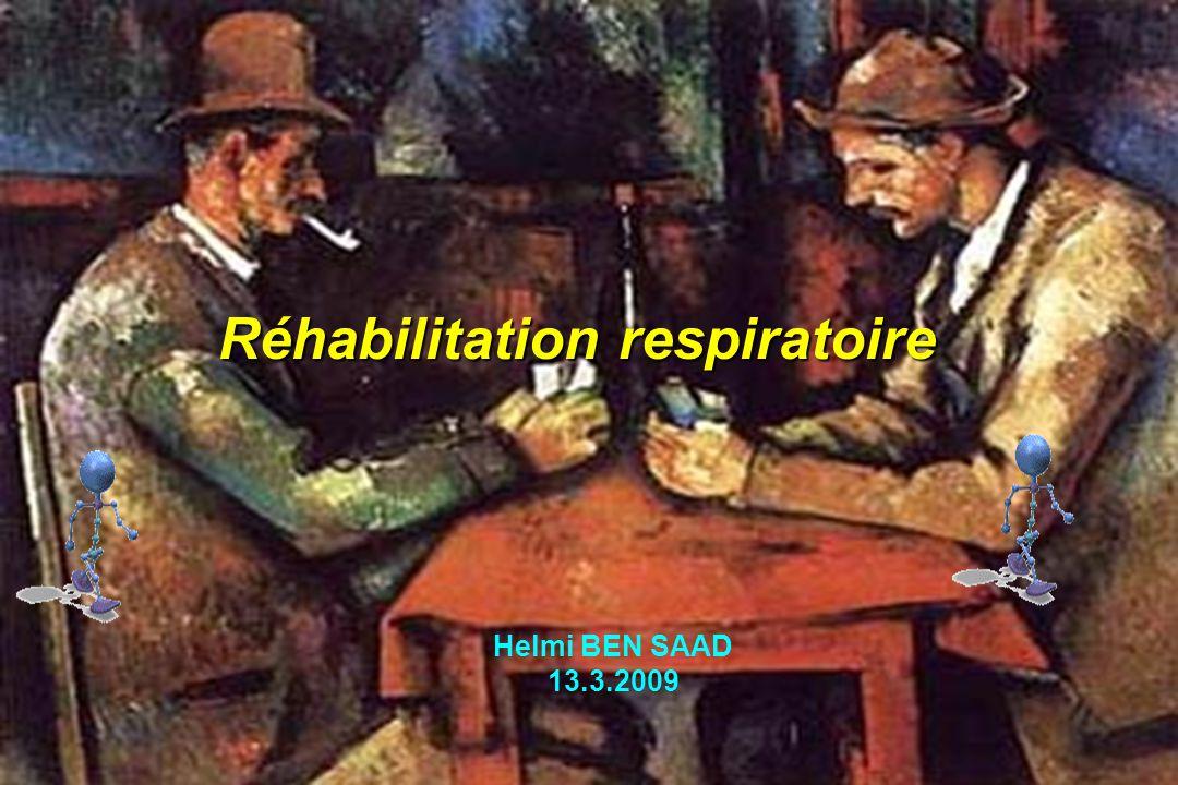 Réhabilitation respiratoire Helmi BEN SAAD 13.3.2009