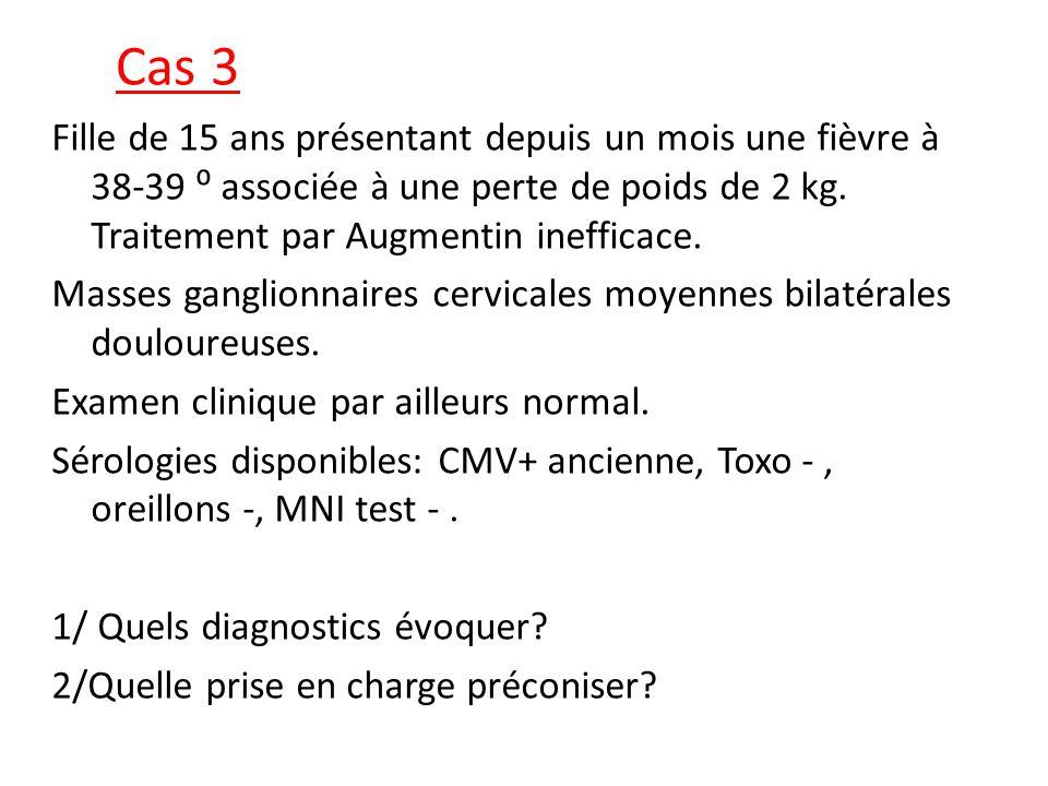 Réponses 1/ Plusieurs diagnostics: -Tuberculose, mycobactéries atypiques.