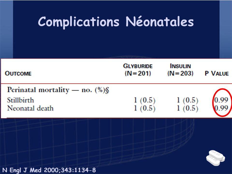 Complications Néonatales N Engl J Med 2000;343:1134-8
