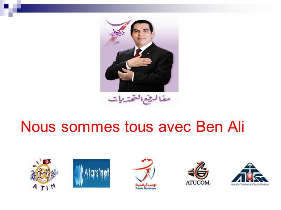 Nous sommes tous avec Ben Ali