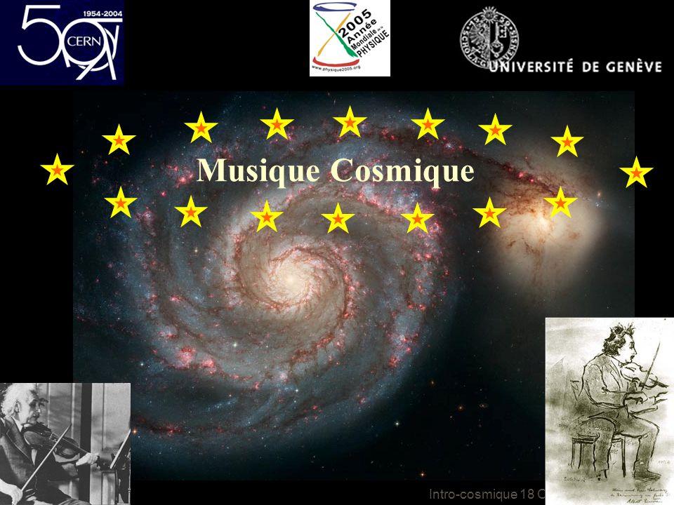 Intro-cosmique 18 Octobre 2005 Musique Cosmique