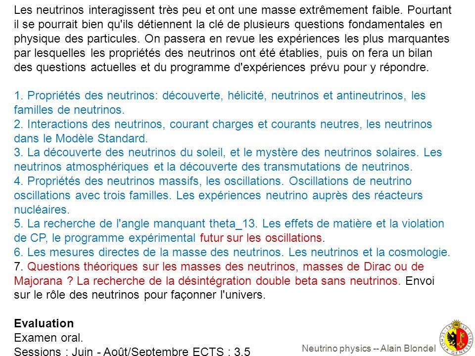 Alain Blondel NUFACT12 23-07- 2012