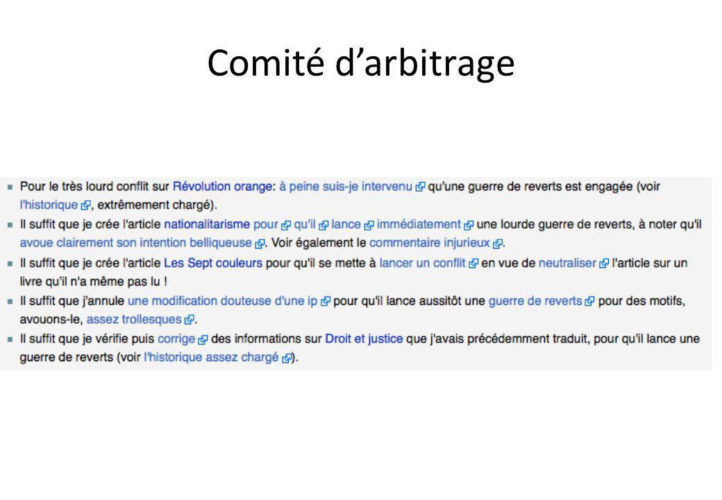 Comité darbitrage