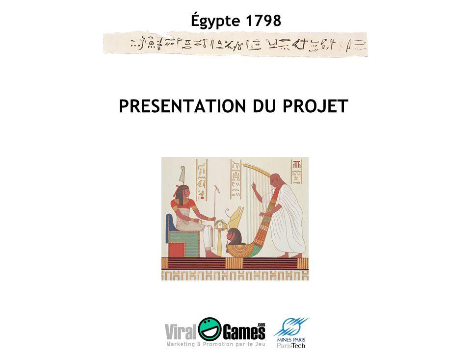 Égypte 1798 Concept MMORPG culturel se déroulant pendant la campagne militaire et scientifique menée par Bonaparte entre 1798 et 1801.
