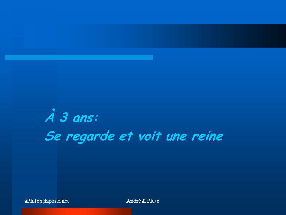 aPluto@laposte.netAndré & Pluto UNE FEMME REGARDE DANS SON MIROIR