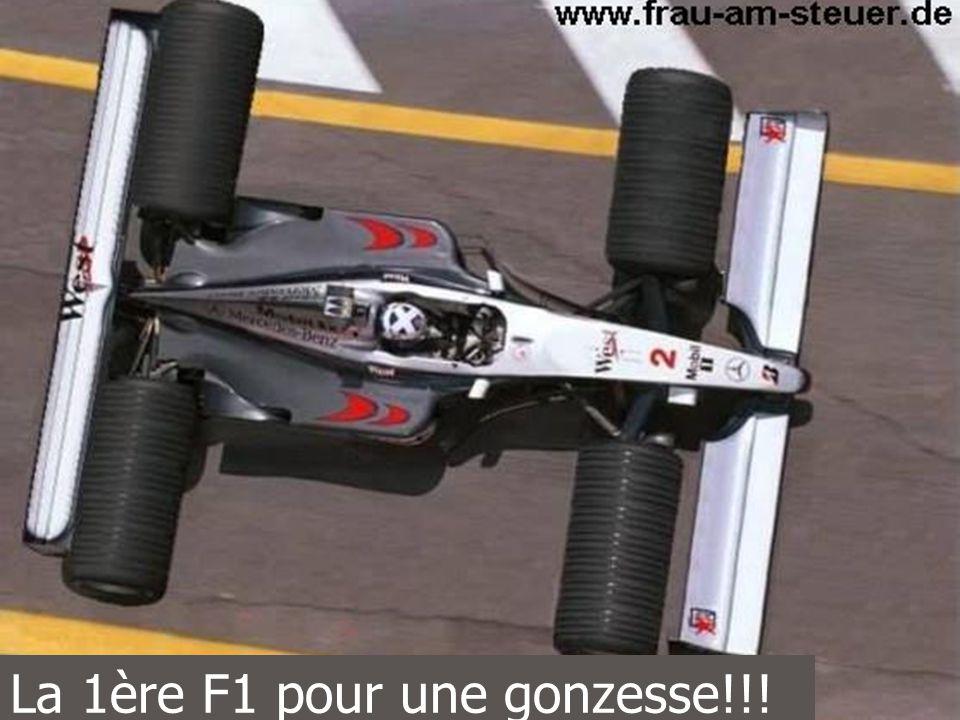 La 1ère F1 pour une gonzesse!!!