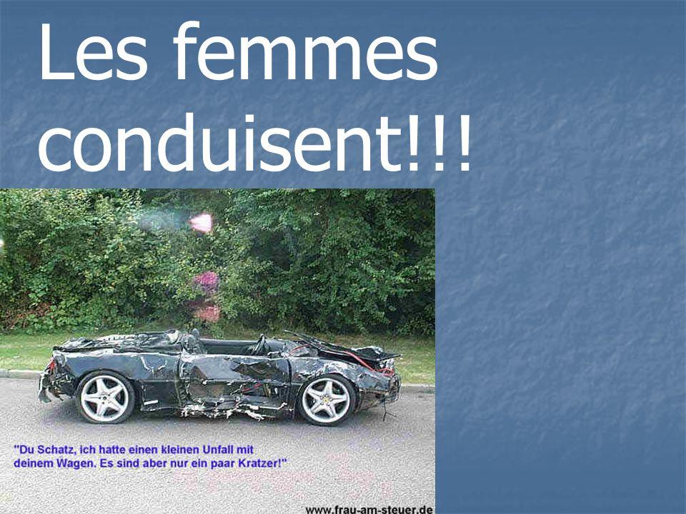 Les femmes conduisent!!!