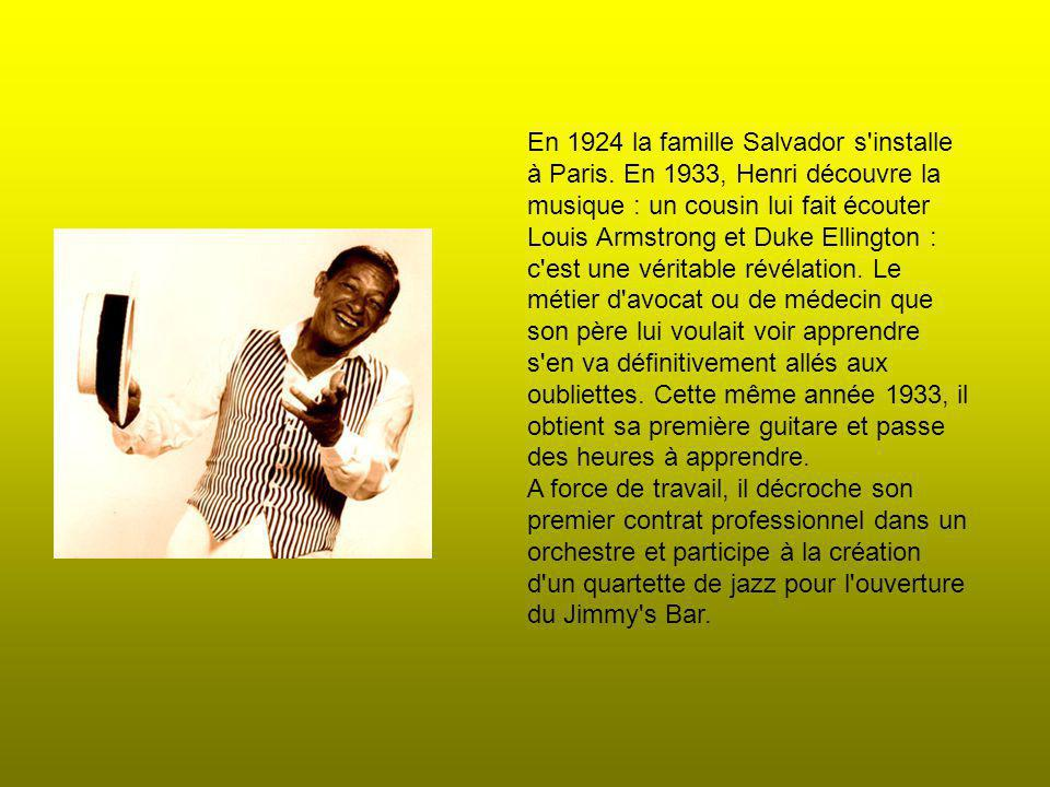 En 1924 la famille Salvador s installe à Paris.