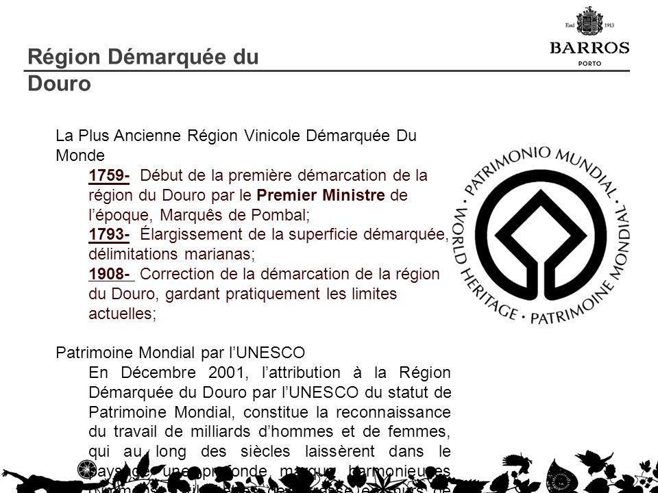 La Plus Ancienne Région Vinicole Démarquée Du Monde 1759- Début de la première démarcation de la région du Douro par le Premier Ministre de lépoque, M