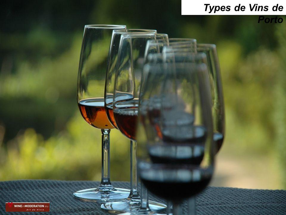 Types de Vins de Porto