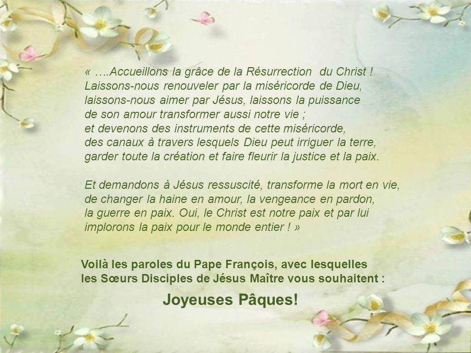 Christ ressuscité, toi le Vivant, le premier-né de tous ceux qui se sont endormis, nous te cherchons parmi les morts. Appelle-nous par notre nom comme