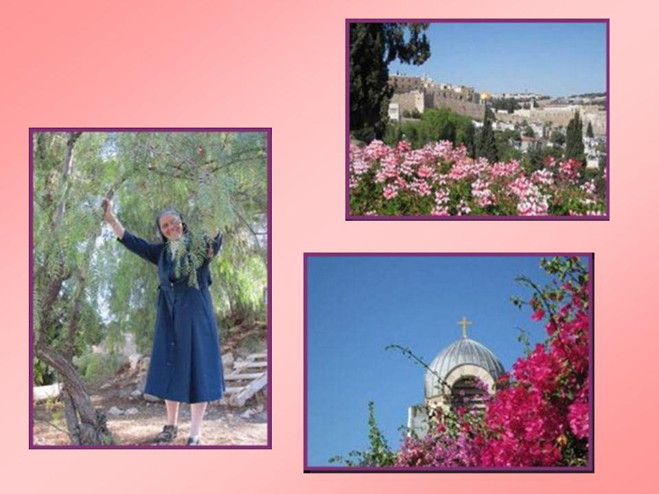 « Debout, Jérusalem, tiens-toi vers la hauteur…vois tes enfants rassemblés…sur la parole du saint ».