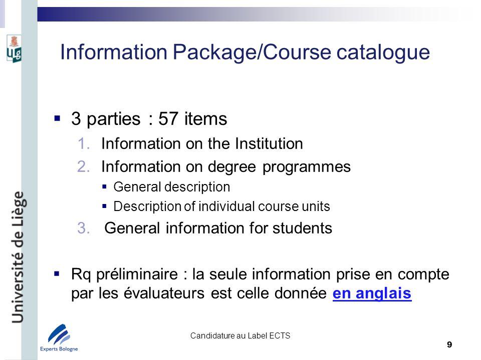 Information on the Institution 1/2 1.name and address : êtes-vous sûrs que ladresse postale de votre institution est facilement accessible.