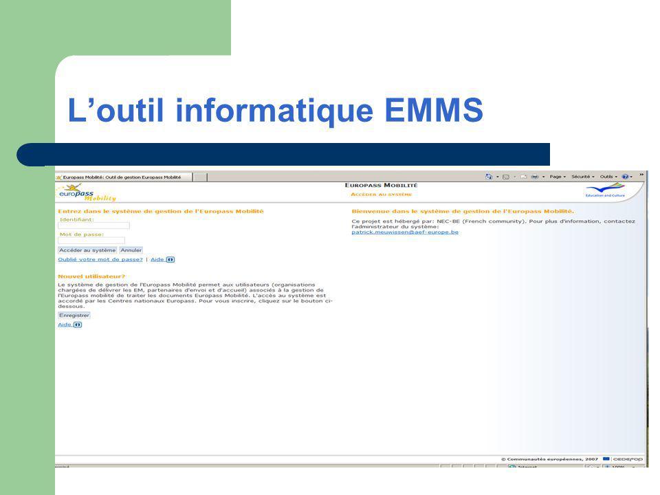 Loutil informatique EMMS