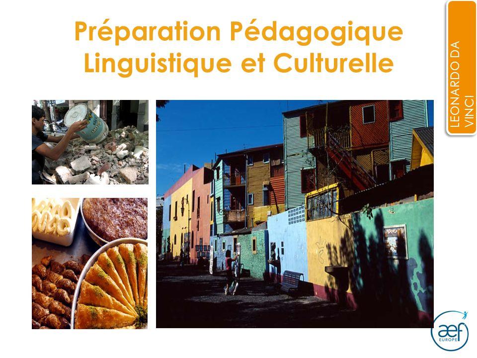 Préparation Pédagogique Linguistique et Culturelle LEONARDO DA VINCI