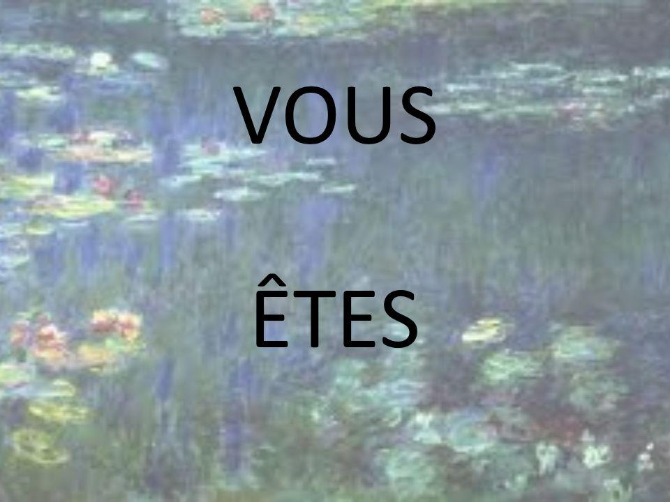 VOUS ÊTES