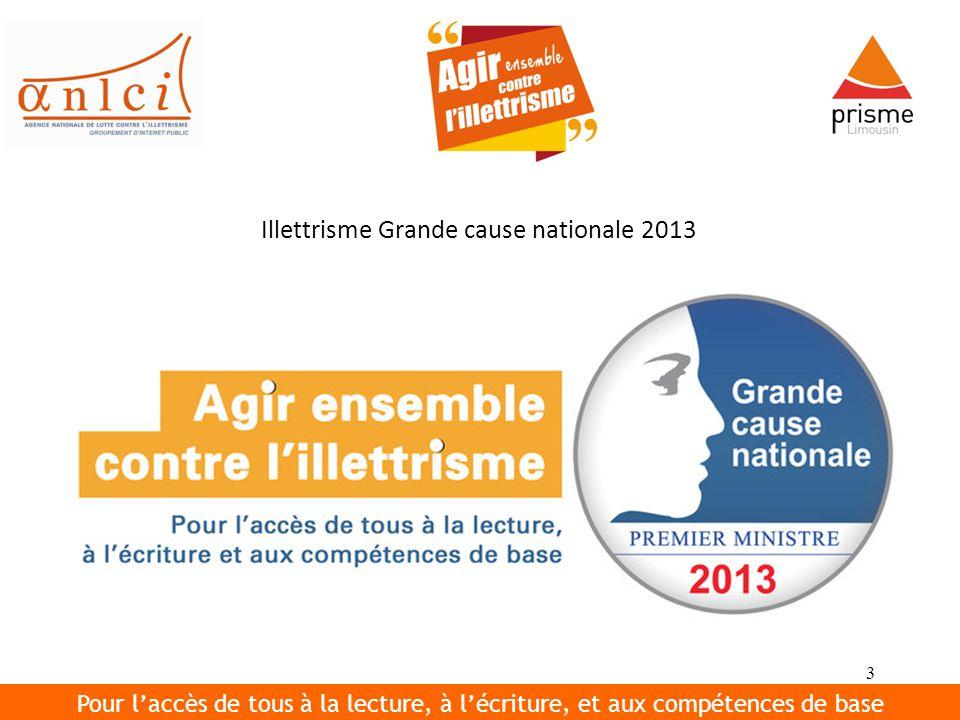 4 L ILLETTRISME EN FRANCE C est au début des années quatre-vingt que le problème de l illettrisme est soulevé par les mouvements associatifs.